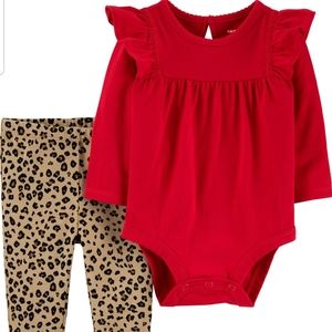 Carters 2 Piece Holiday Set